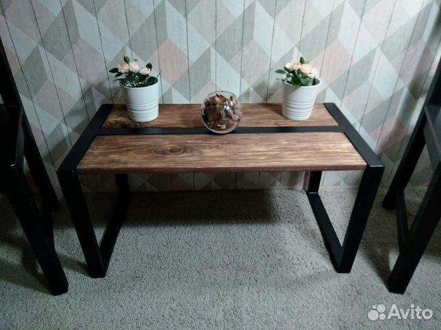 журнальный столик в стиле Loft купить в санкт петербурге на Avito