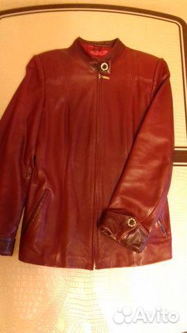 Куртка из натуральной кожи женская 89646768490 купить 1