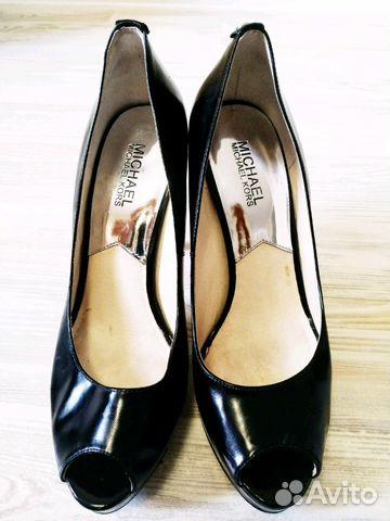 a77107ad0688 Кожаные черные туфли Michael Kors 38,5 купить в Москве на Avito ...