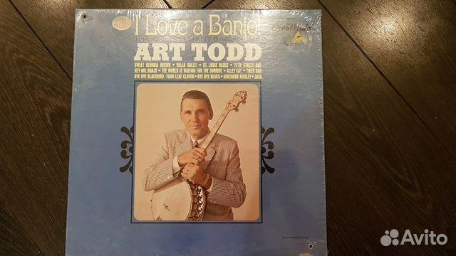 Banjo, Art Todd, Sealed, USA, Jazz 89185565096 купить 1
