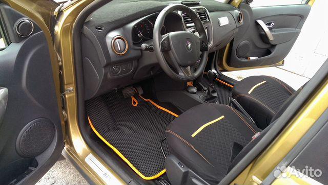Коврики EVA Рено Сандеро степвей Renault Sandero S купить 1