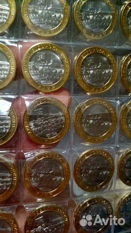 10 рублей бимметал Клин