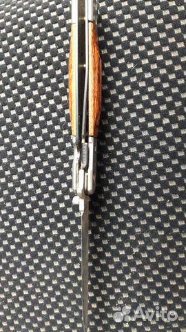 Нож складной с фиксатором