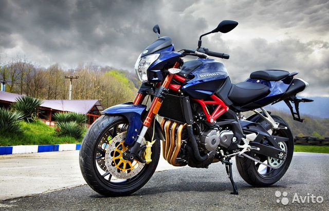 Мотоцикл stels benelli 600 — фотография №3