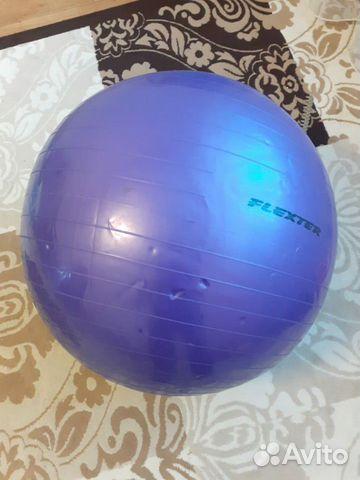 Гимнастический мяч Flexter+насос купить 1