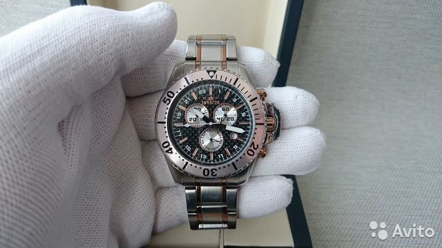 Мужские Invicta Pro Diver Chronograph 11286 обмен 89525003388 купить 8