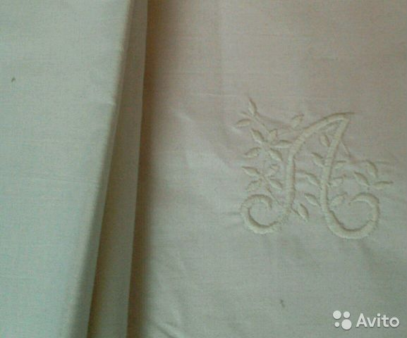 Простыни, полотенца льняные СССР 89531784236 купить 2