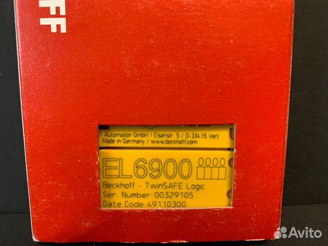 Beckhoff EL6900 новый 1шт