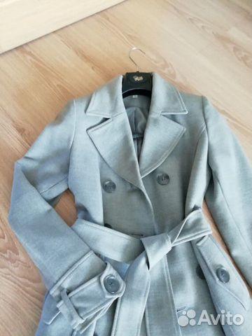 Пальто демисезонное  89144749514 купить 1
