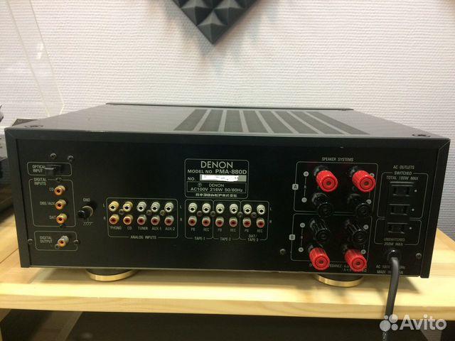 Усилитель Denon PMA-880D цап 89222200502 купить 7