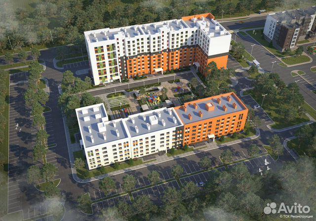 1-к квартира, 42.4 м², 4/10 эт.  84912407413 купить 4