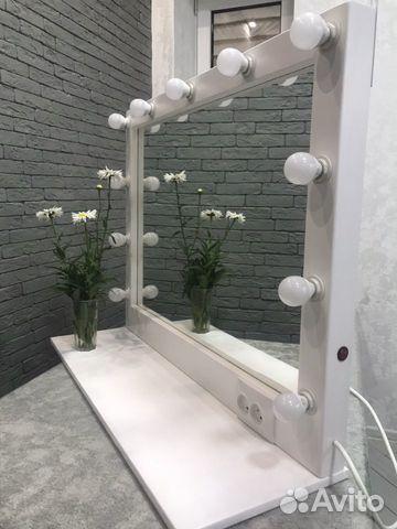 Гримерное зеркало с полочкой  89383042005 купить 3