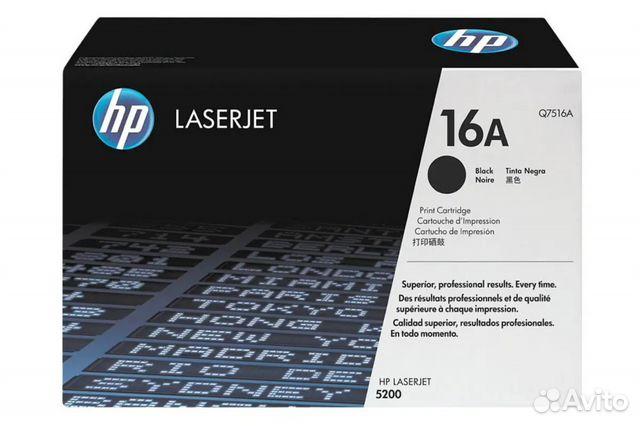 Картридж LaserJet 16A Q7516A Не распечатан купить 1