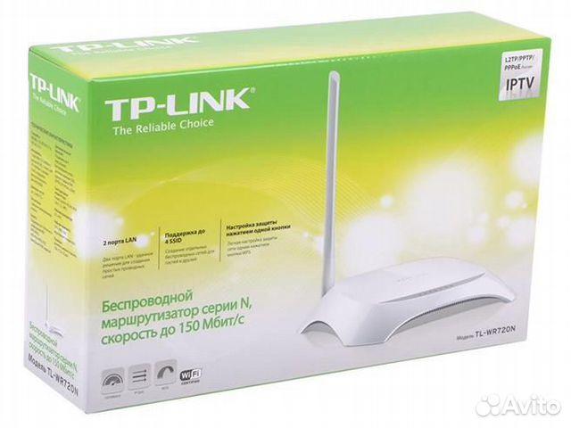 Роутер TP-link TL-WR720N