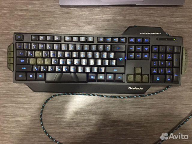 Игровая клавиатура Defender Warhead GK-1300L  89272085355 купить 2