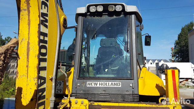 Экскаватор погрузчик New Holland B115B. Проверен  89584145963 купить 3