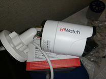 Цилиндрическая камера IP. Hikvision hiwatch