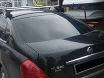 Багажник на крышу Nissan Teana (алюмин) +монтаж