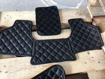 Кожанные ковры салона Audi S6, A6 (c7)