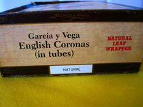"""Коробка из под Сигар """"Garcia y Vega"""" — Коллекционирование в Геленджике"""