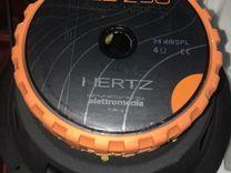 Динамик сабвуферный 10 дюймов hertz