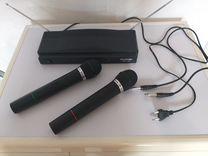 Набор из двух беспроводных микрофонов