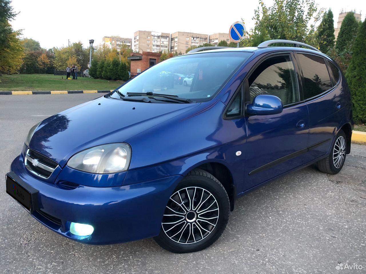 Chevrolet Rezzo, 2008  89065637466 купить 9