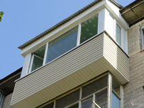 Лоджии Балконы с крышей