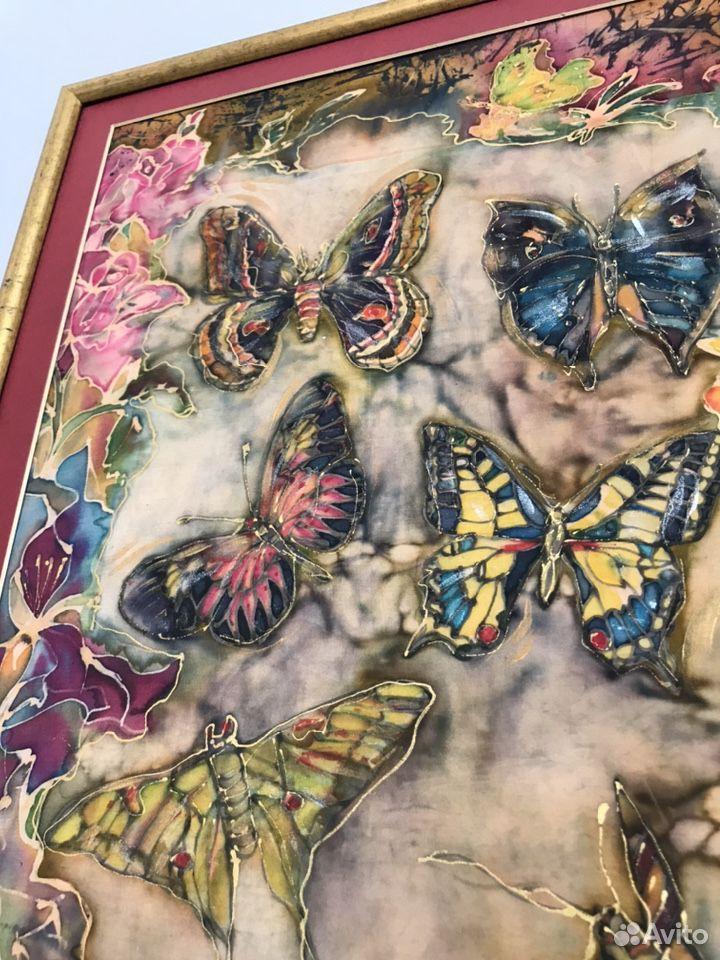 Картина-батик-бабочки 89180478771 купить 6