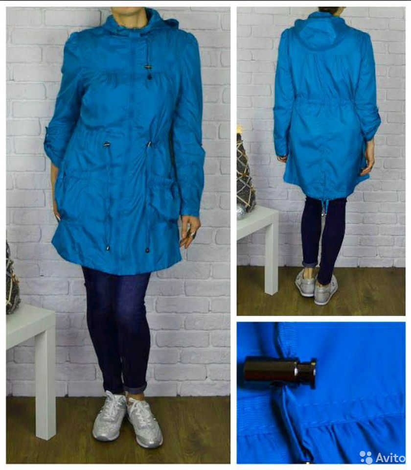 New look ветровка, легкий дождевик р8 89788836800 купить 1