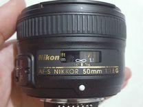 AF-s Nikkor 50mm 1.8G
