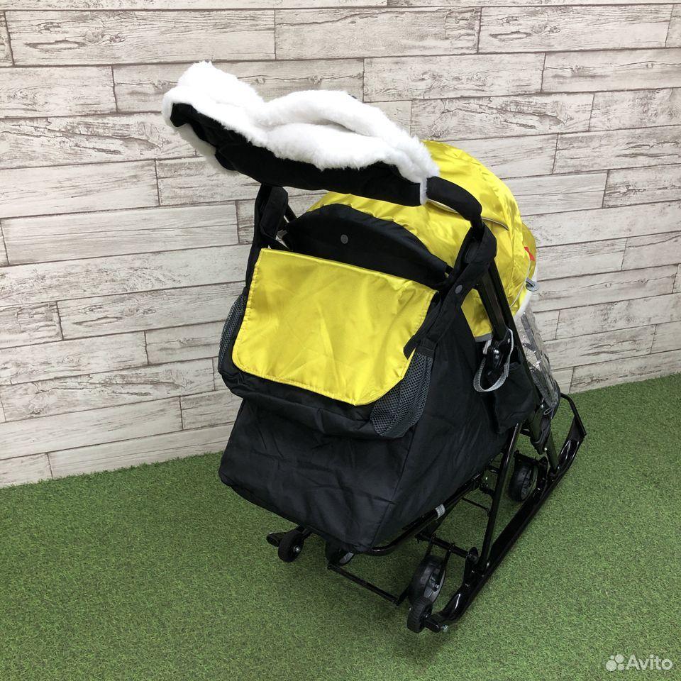 Санки-коляска Nika kids 7-5, цвета микс  89225759000 купить 8
