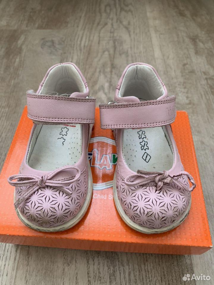 Туфли для девочки 21р  89124370677 купить 2