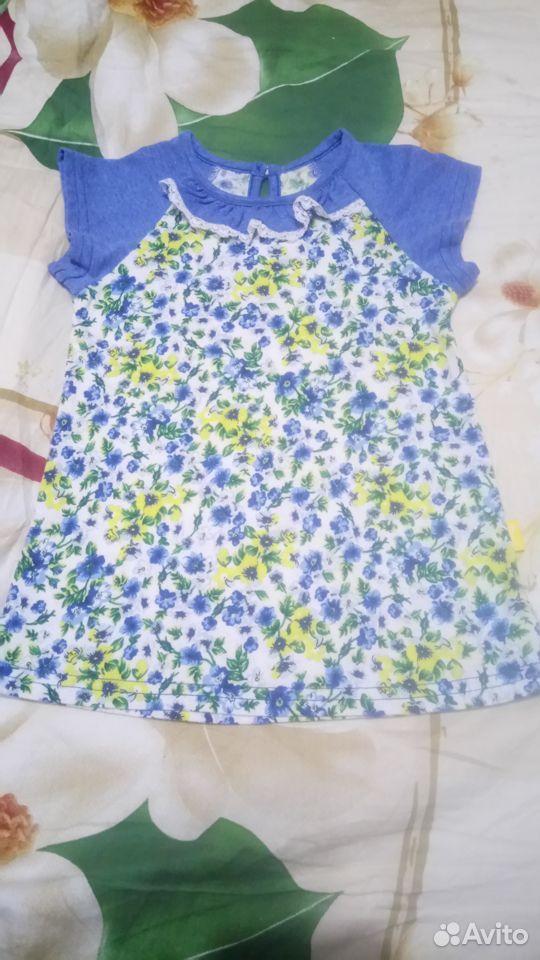 Платье д/д р.80 новое  89213578617 купить 1