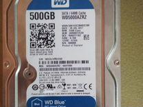 WD5000azrzhdd для пк Ёмкостью 500 гигабайт