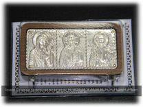 Иконы в серебряной ризе