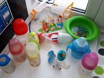 Поильники, бутылки,соски,ложки для кормления