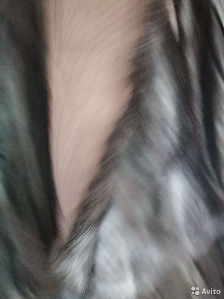 Кутка кожанная натуральная рукава норка. В комплек  89016001634 купить 4
