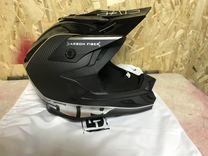 Шлем 509 carbon fiber division silver