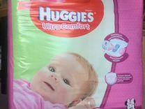 Подгузники Huggies ultra comfort 3 (94 шт) для дев