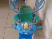 Детский музыкальный велосипед