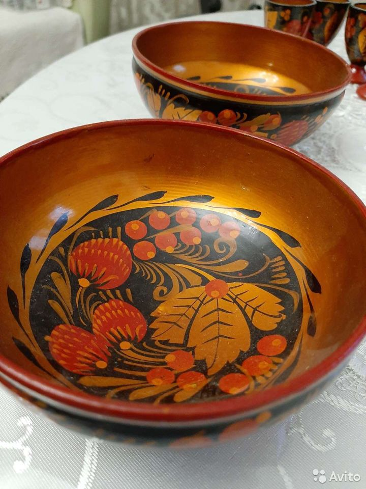 Посуда хохлома  89124153777 купить 1