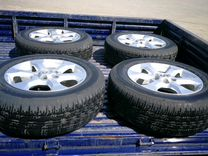 Комплект оригинальных дисков на 17 Тойота Рав 4