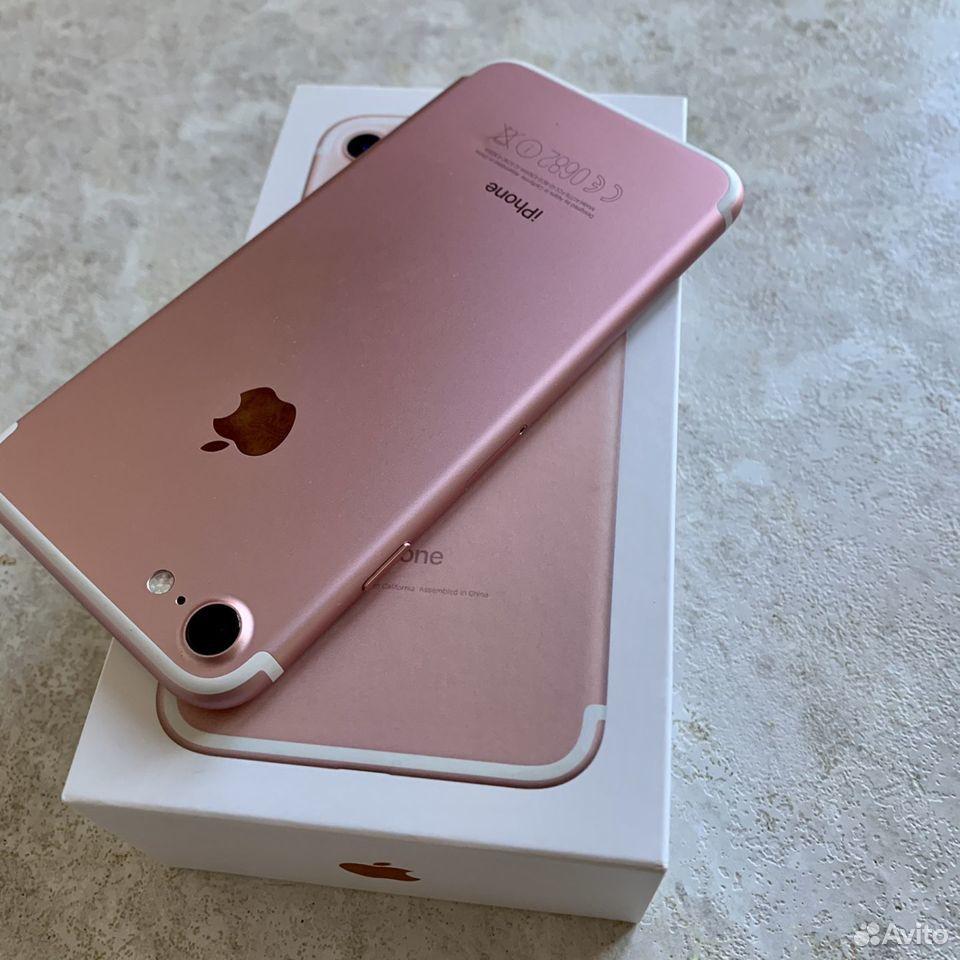 iPhone 7 32Гб RU/A Rose Gold  89243435002 купить 8