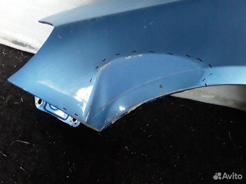 Крыло переднее левое Skoda Fabia 2 2007-2015  89196068635 купить 2