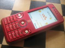 Sony Ericsson W660i Red 3G 2Mpx Bluetooth microMS
