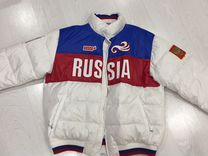 Олимпийский пуховик (куртка) bosko sport