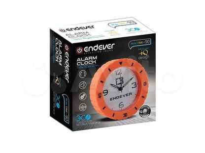 Часы будильник endever realtime-90 Габариты (см):12 x 4.2 x 12
