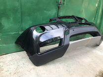 Бампер BMW X3 F25 дорест