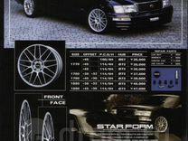Комплект колёс Basel Starform R17 made in Japan